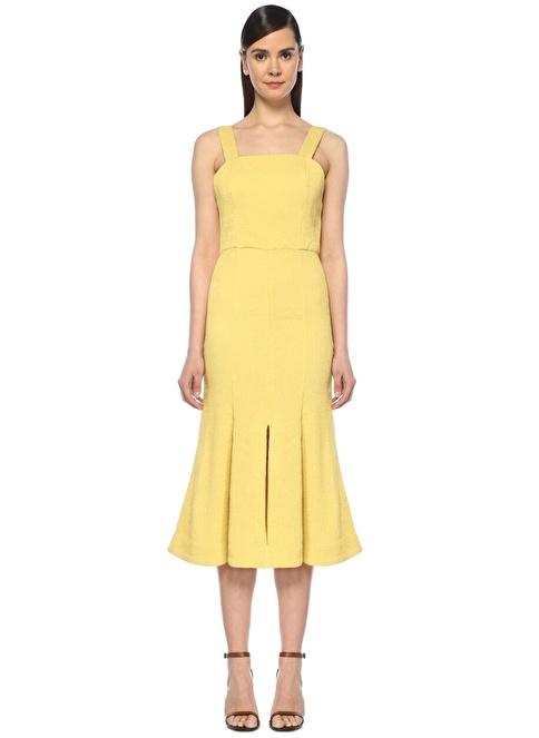 Cameo Elbise Sarı
